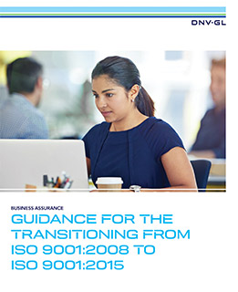 ISO 9001:2015 Transition Guidance