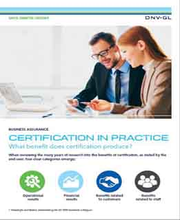 benefits of certification in practice