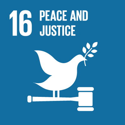 16. Peace and justice