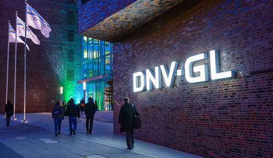 DNV GL office in Hamburg